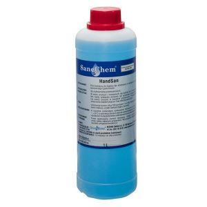 Handsan 1kg - płyn do dezynfekcji rąk bez konieczności spłukiwania.