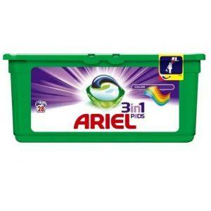 Ariel kapsułki do prania 3w1 Color op. 26 sztuk