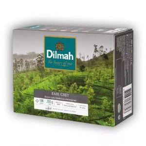 Herbata DILMAH Earl Grey, 100 torebek, op. 1 szt.