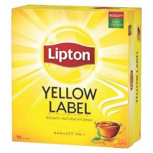 Tea LIPTON Yellow Label, 100 bags