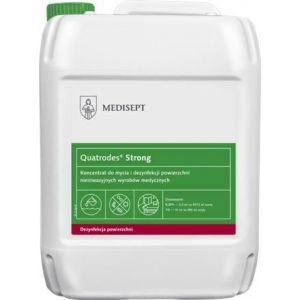 MEDISEPT Quatrodes Strong dezynfekcja 5L Koncentrat do mycia i dezynfekcji powierzchni nieinwazyjnych wyrobów medycznych.