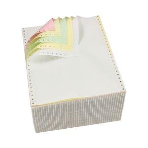 Papier komputerowy składanka, kolor, 240x12, 1+3, 400 arkuszy, bez nadruku, PASACO