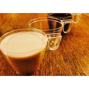 Filiżanka do kawy bezbarwna160ml PS, cena za 50 sztuk