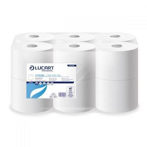 Papier toaletowy Strong L-ONE  LUCART 180m, 2W, JUMBO - MINI 180 op. 12 rolek