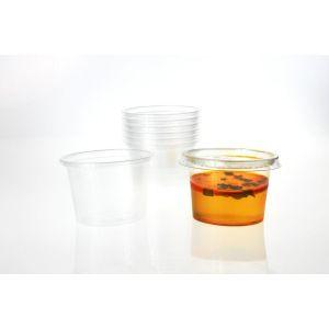 Pojemnik, sosjerka 100ml dip, sos, degustacja T transparentny TnP op. 100 sztuk
