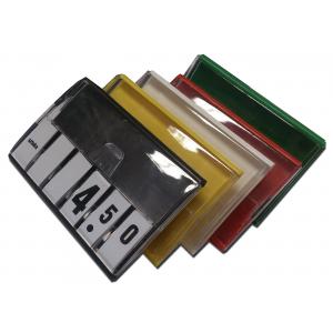 Kasetka KLICK z bloczkami cyfrowymi, żółta