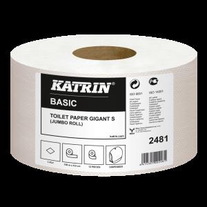 KATRIN Papier toaletowy BASIC S2 Gigant 150m op. 12 rolek