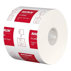 KATRIN Toilet Paper Classic 800 System 2-ply cellulose, 36 rolls