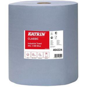 Towel roll KATRIN 190m XXL3 blue, 2 rolls