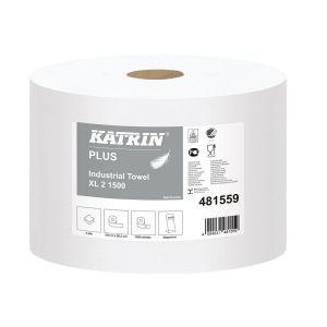KATRIN Towel roll 570m Classic XL2 1500 super white, 2 rolls