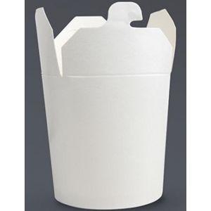 KEBAB BOX biały 500ml, cena za opakowanie 50szt