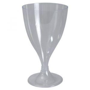 Kieliszki do wina 200ml zdejmowana stópka, krystaliczne h12,6xfi7,4cm op. 12 sztuk