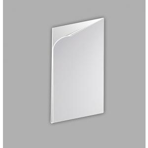 "U"" pocket 0.4mm PVC A5 horizontal anti-reflection"