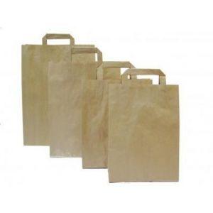 Block bag grey 180x85x230 with a flat holder