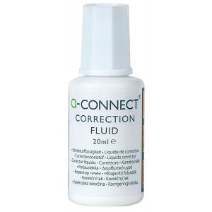 Q-CONNECT liquid concealer with brush 20mll