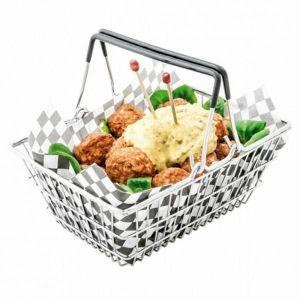 Kosz do serwowania mini-shopping basket