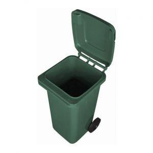 Kosz na odpady 120l na kółkach zielonyrrrr