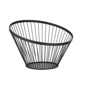 Fruit basket black, height 250 mm rrrr