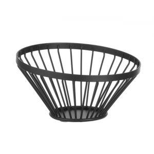 Fruit basket black, height 80 mm rrrr
