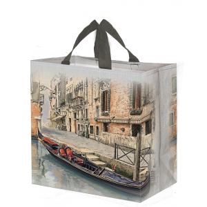 ECO shopping bag VENICE kraft 33l 38x22x40 (k/100)