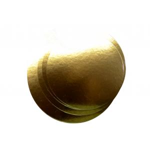 Podkład pod tort śr.30cm, złoty, op.100szt