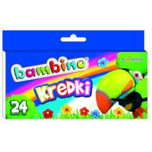 Kredki BAMBINO 24 kolory pudełko