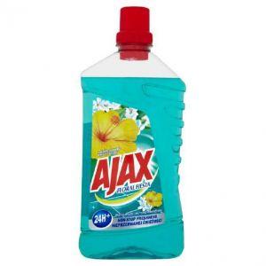 AJAX płyn 1l Kwiat Laguny (k/12) uniwersalny, do podłogi