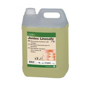 Taski Jontec Linosafe, środek do usuwania powłok polimerowych i woskowych z podłóg wykonanych z linoleum i wrażliwych na alkalia, kanister 5l