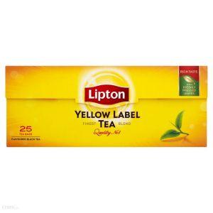 Tea LIPTON Yellow Label, 25 bags