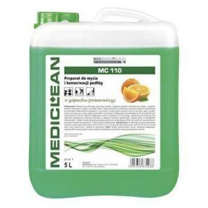 MEDICLEAN 110 Floor 5l pomarańczowy Preparat do mycia i konserwacji podłóg