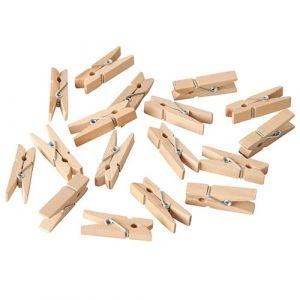 FINGERFOOD mini spinacze drewniane 35mm op. 100 sztuk