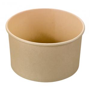 Miska z włókna bambusowego 1000ml, śr.150xh.75mm 100% biodegradowalne op. 45 sztuk