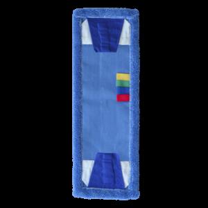 Mop 40cm kieszeń + tasiemka mikrofaza blue DUO