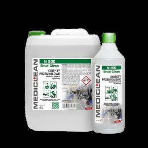 MEDICLEAN N200 Brud Clean 5l alkaliczny środek do czyszczenia podłóg