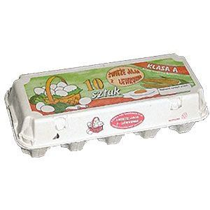 Wytłaczanki na 10 jaj HARTMANN E3310 , cena za opakowanie 59szt
