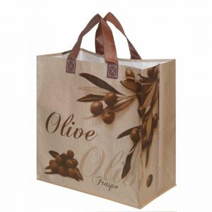 ECO Shopping Bag Olive 33l 38x22x40 (k/100)