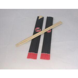 Pałeczki bambusowe 21cm pakowane pojedynczo, opakowanie 100par