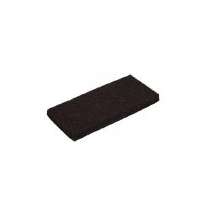Pad ręczny czarny, prostokątny zmywak