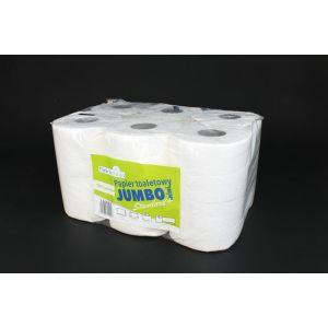 Papier toaletowy 50m biały T4 celuloza 2W konwencjonalny TnC op. 12 rolek