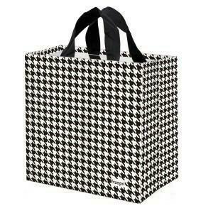 ECO Shopping Bag Cheerful Check 24l 35/20/35cm (k/100) mix
