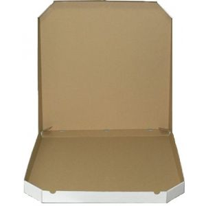 Pudełko, karton na pizze 32x32cm ścięte rogi op. 100 sztuk