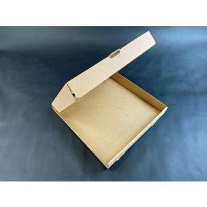 Pudełka pizza 32x32cm op.100szt pr.rogi h=4cm, Szaro-szara Fala E TnP