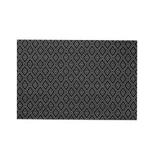 Podkładki na stół Style 30x45cm czarne PP wielokrotnego użytku op. 12 sztuk