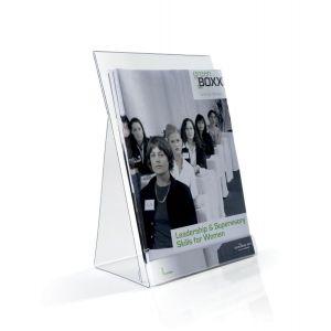 Brochure holder A4 Durable 8594