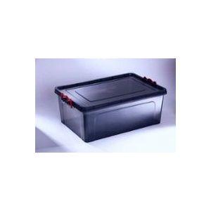 Pojemnik Techno BOX 27l czarny 51,5x34,7x h.22,5cm (12)