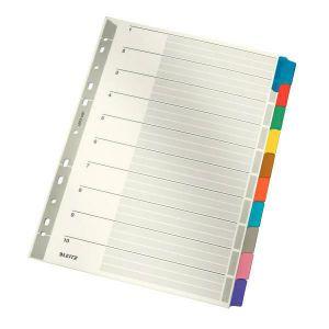 LEITZ cardboard tabs A4 10 sheets 43210000