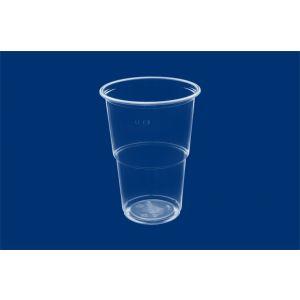 Kubek PP do piwa 0,4l K543 op.50szt transparent, średnica 95mm (24) 211T/0001