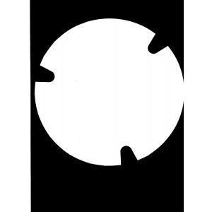 Przykrywka do kubełka dużego-3858ml, cena za opakowanie 100szt