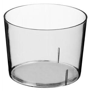 FINGERFOOD - mini miseczka 30ml transparent, śr.4,6xh.3cm PET, op 50 sztuk