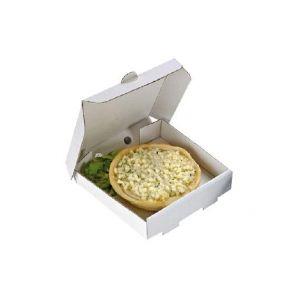 Pudełko białe PIZZA MINI 90x90x20mm op. 100 sztuk